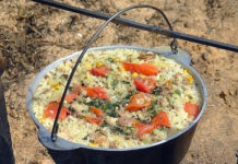 Мужские кулинарные курсы на природе