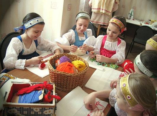 Рукоделие в детском доме