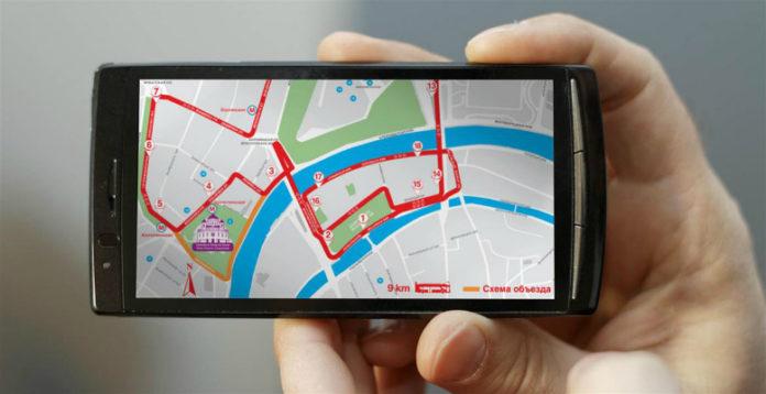 Использование сотового телефона для определения графика движения городского транспорта