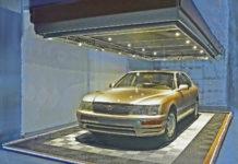 Автомойка в гараже