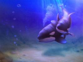 3D дизайн интерьеров - дельфины-2