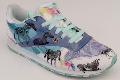 Цветная печать на кроссовках