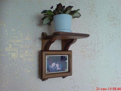 Фоторамка с подставкой под цветы. Вид 5