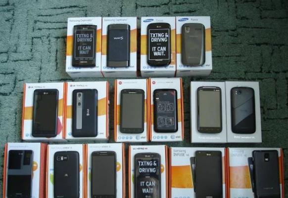 Мобильники из Сша