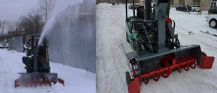 Производство снегоочистительного оборудования
