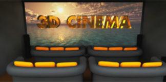 Бюджетный 3D-кинотеатр