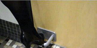 Дверная ручка для ноги