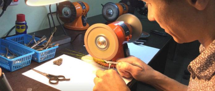 Обучение заточке маникюрного инструмента