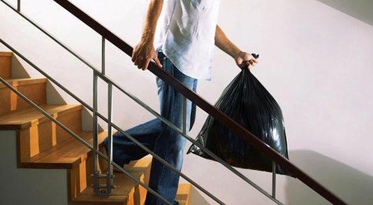 Ежедневный вынос мусора из квартиры