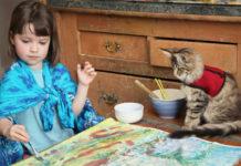 Кошка как источник вдохновения