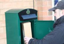 Почтовый ящик для посылок