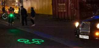 Лазерный фонарь для велосипеда