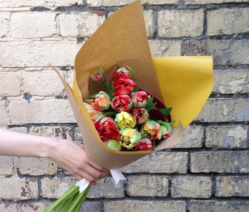 Доставка цветов по подписке