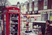 Кафе в телефонной будке