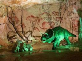Шахта с динозаврами