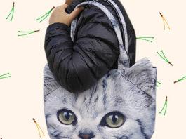 Сумки с мордочками кошек и собак