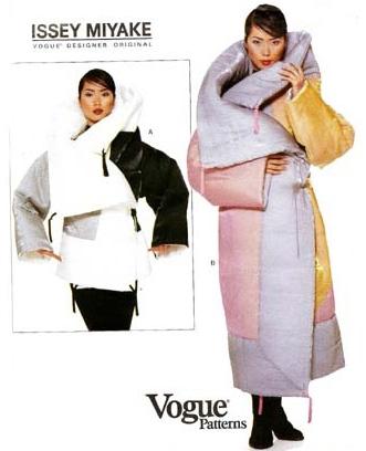Пуховик-одеяло от известного дизайнера