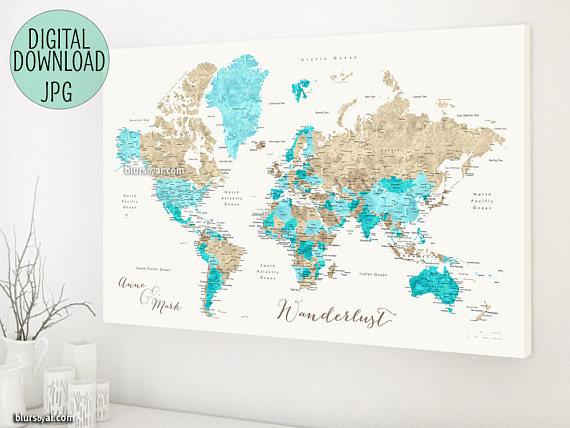 Карта путешественника в виде файла