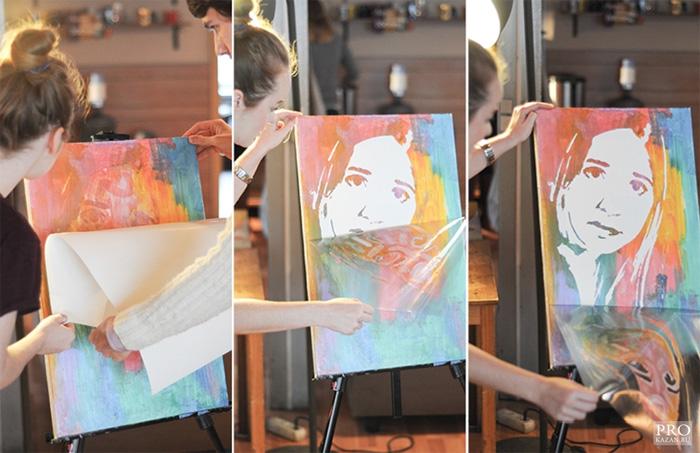 Флип флоп портрет - m 956