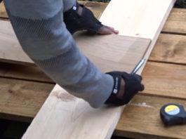 Простое изделие из дерева - готовая ниша Wooden-3