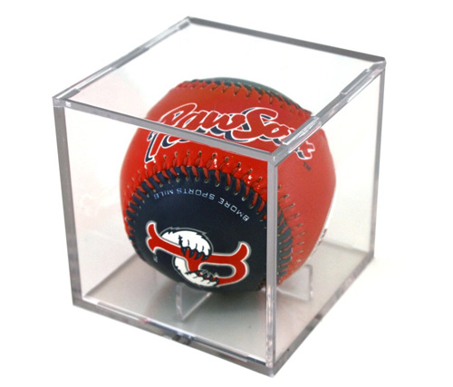Прозрачный кубик для демонстрации мяча