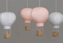 Воздушные шары в детской комнате