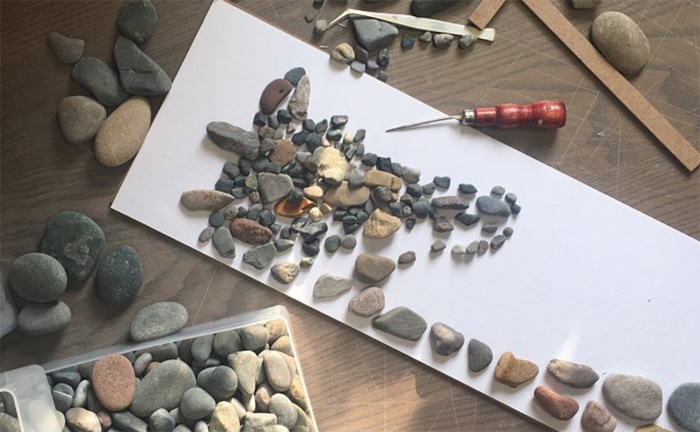 Камни для создания романтических композиций
