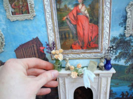 Миниатюрные аксессуары для кукольных домиков