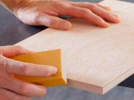 Несложное изделие из дерева - готовая ниша Wooden-4