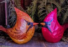 Деревянные птички