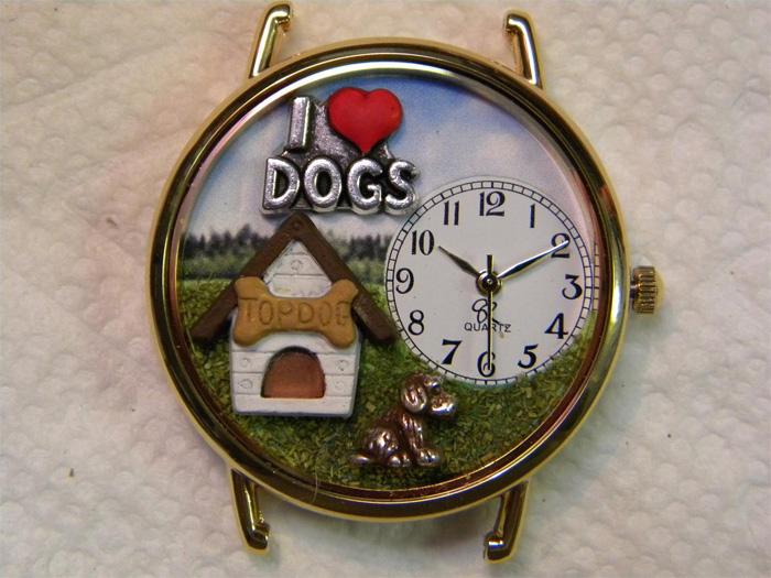 Часы для любителя собак
