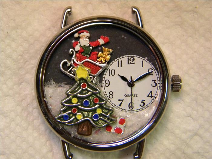 Часы-подарок на Рождество