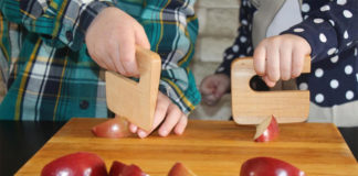 Безопасный нож для детей