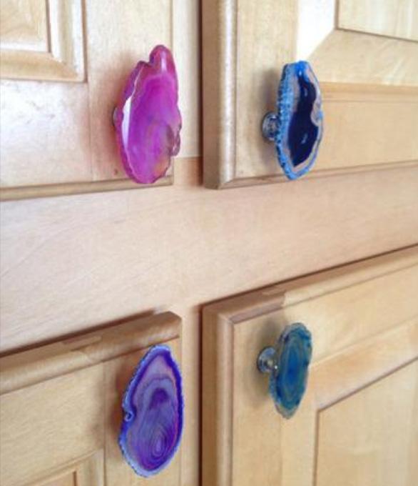 Дверные ручки из агата
