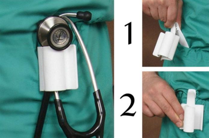 Держатель для стетоскопа