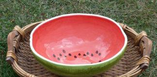 Тарелки по образу и подобию овощей и фруктов