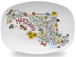 Карты американских штатов в картинках