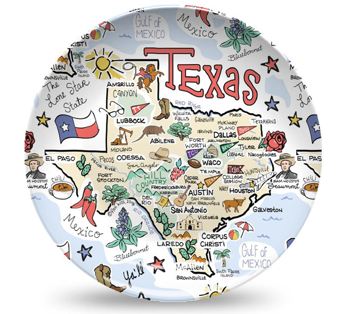 Картинка с рисунком штата