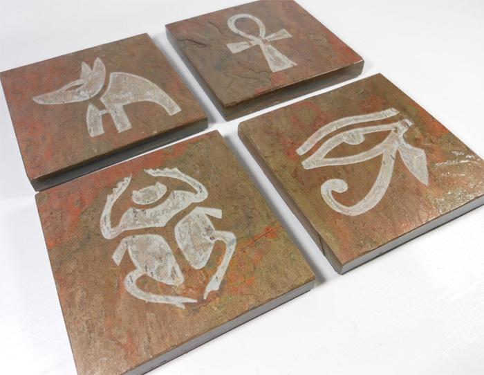 Плитки с египетскими образами