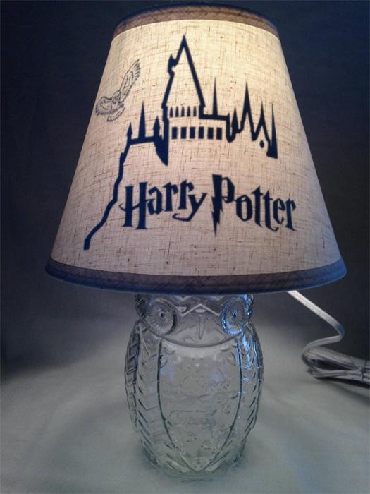 Лампа на тему Гарри Поттера