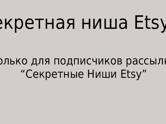 Секретная ниша Etsy-7