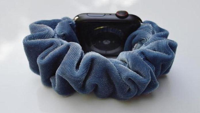 Резинка скранч для часов Apple watch