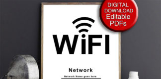 Пароль от wifi - цифровая ниша