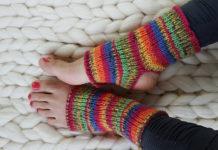 Носки с открытыми пальцами