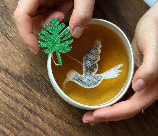Чайные пакетики, сделанные вручную