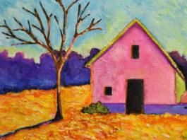Как испанская художница продает абстрактные картины на Etsy