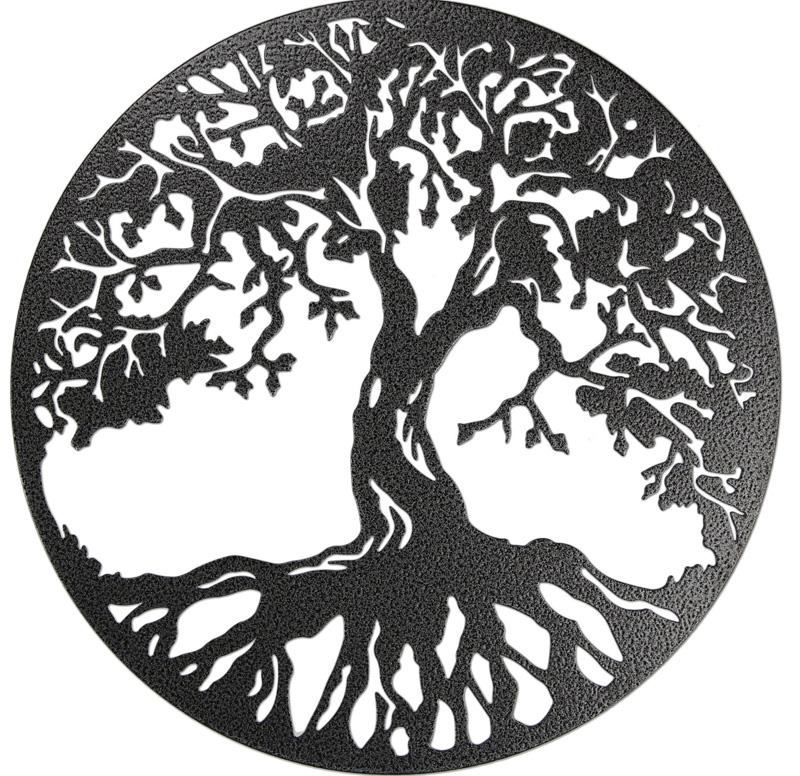 Дерево жизни - арт из металла