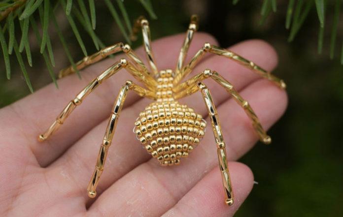 Как зарабатывать на Etsy на пауках из бисера