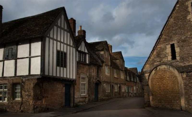 Деревня Лэкок Великобритания