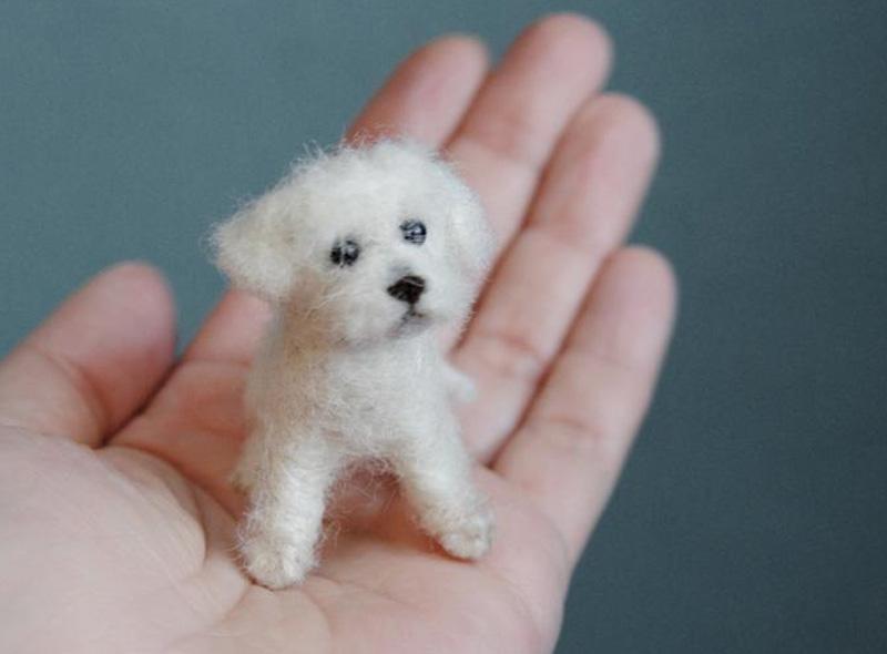 Кастомизированная фигурка собаки